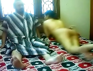 #NaziaPathan Indian arab housewife with a despondent butt having sex with her lover - attaching 2/2