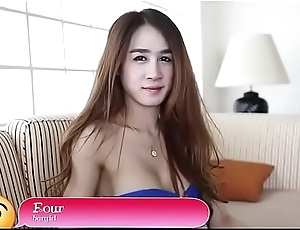 Ugly asian ladyboy plays some blowjob and hardcore give a clothes-horse