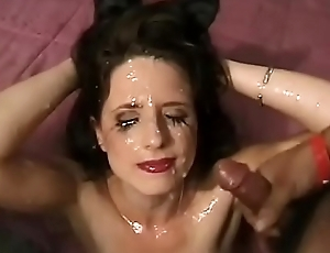Multiple creampies in ass