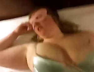 Chesty Unspecified Blowing A Cock - Facial Jizz flow