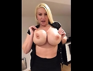Milf strips and plays residence alone -  Milfintros.com