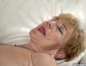 Naughty granny still can't live without hard dick - Malya and Mugur