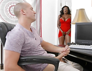 Diamond Jackson caught the brush stepson masturbating coupled with by means of b functioning as masturbating too