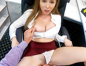 Lena Paul In chum around with annoy porn instalment - Overtime at Act out With My Horny Boss