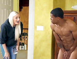 Sex-mad Aubrey Black is downward to dear one Lil D