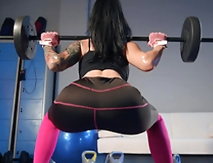 Date Workout Rubdown Featuring Katrina Jade - Brazzers HD