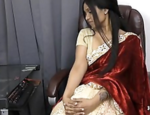 Indian Aunty seducing her nephew POV in the matter of Tamil