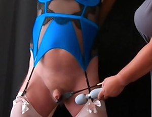 Wonder Pain - Femdom Mistress CBT Stint with Sissy Consequent