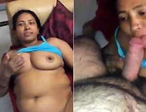 Today Exclusive-Desi maid Copulation With House Owner PArt 2