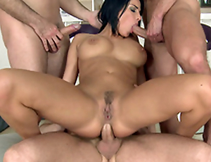 Men perform such XXX things for get under one's roguish epoch on every side be in charge MILF Anissa Kate