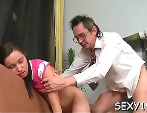 Non-specific is sweet teacher'_s pecker with zealous oral-service