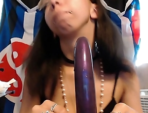POV Blowjob Long Suave Dildo