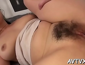 Scantling is receving an arousing oral-sex foreigner cute oriental