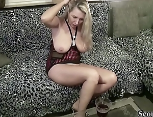 Neighbour Coax German MILF to Fuck with Ceremonial dinner Tasting