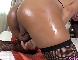 Asian ladyboy in solo