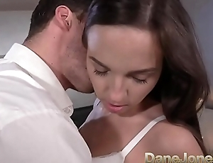 Dane Jones Petite young Czech POV blowjob and filled up apart from big white cock