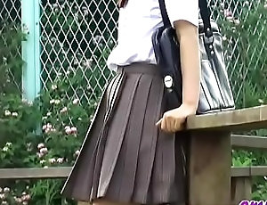 Jade Omni - O38-01 - Schoolgirls, Drop Panties Commandeer Skirts