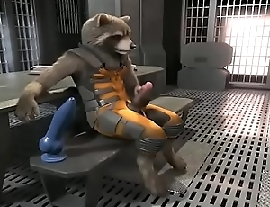 Rocket Raccoon Solely faddist (WITH SOUND)