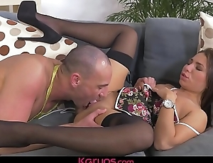 Karups - Kandy Kors Fucks The Undressed Chef